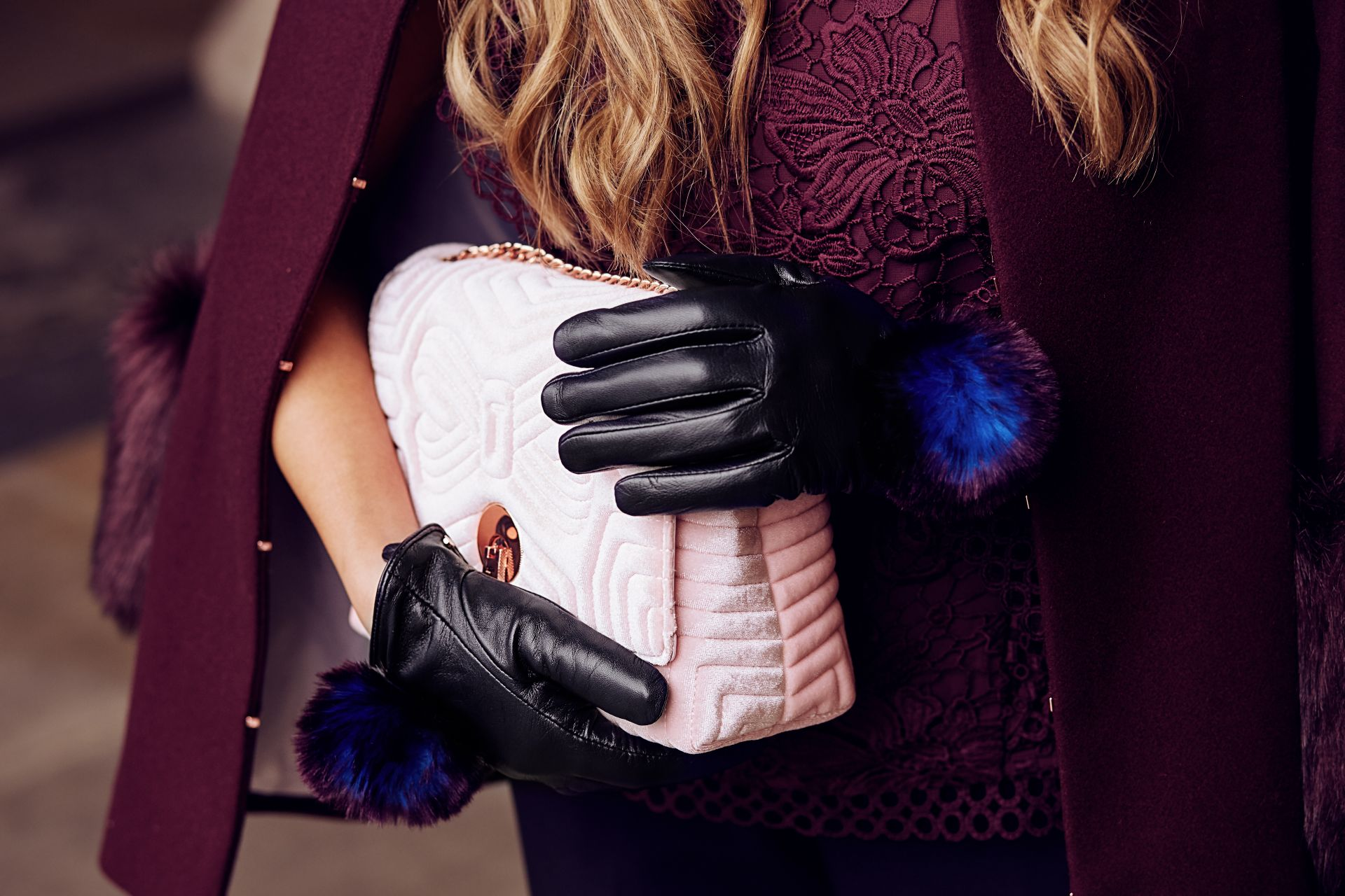 Ted Baker Winter Warmers_Amelia_3F8A9529_Black Gloves